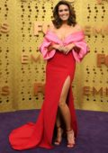 Mandy Moore attends the 71st Primetime Emmy Awards at Microsoft Theater in Los Angeles
