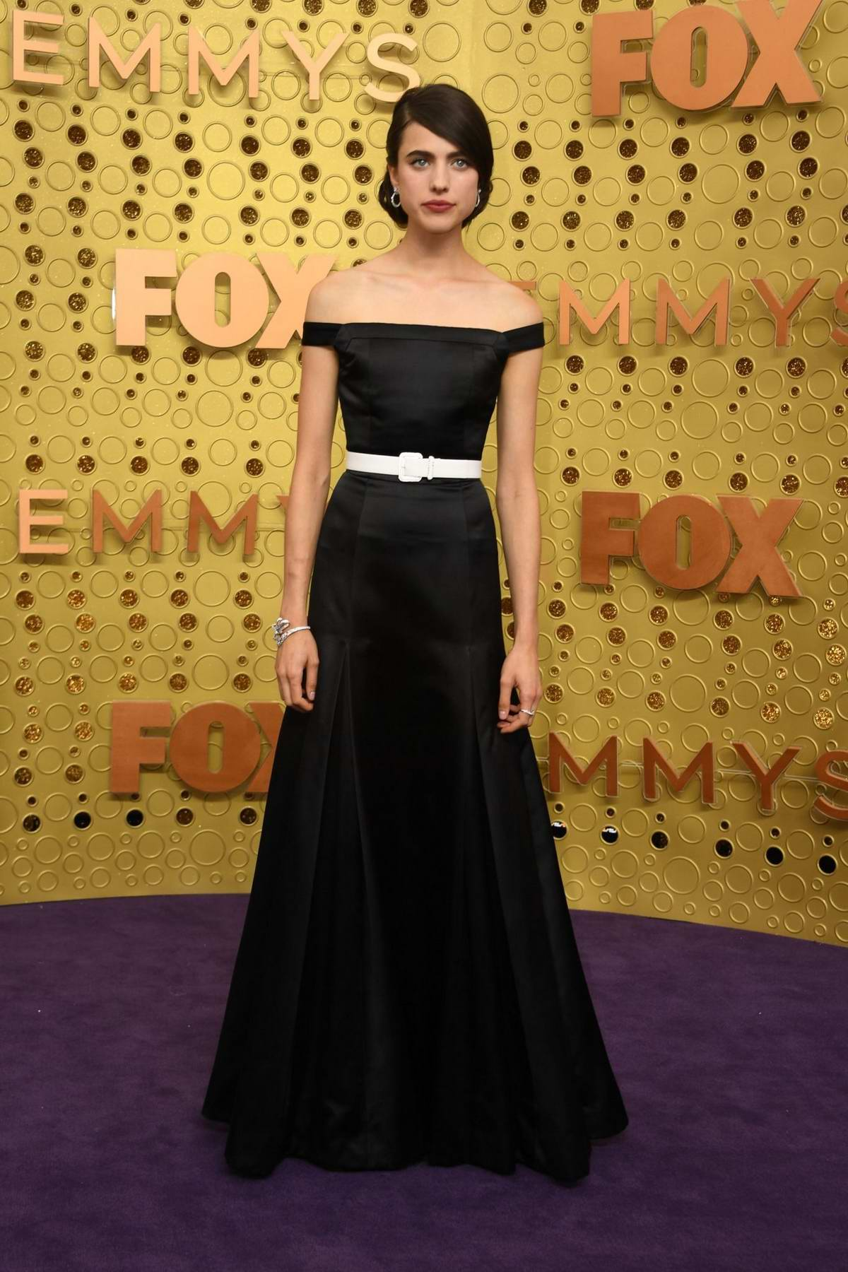 Margaret Qualley attends the 71st Primetime Emmy Awards at Microsoft Theater in Los Angeles