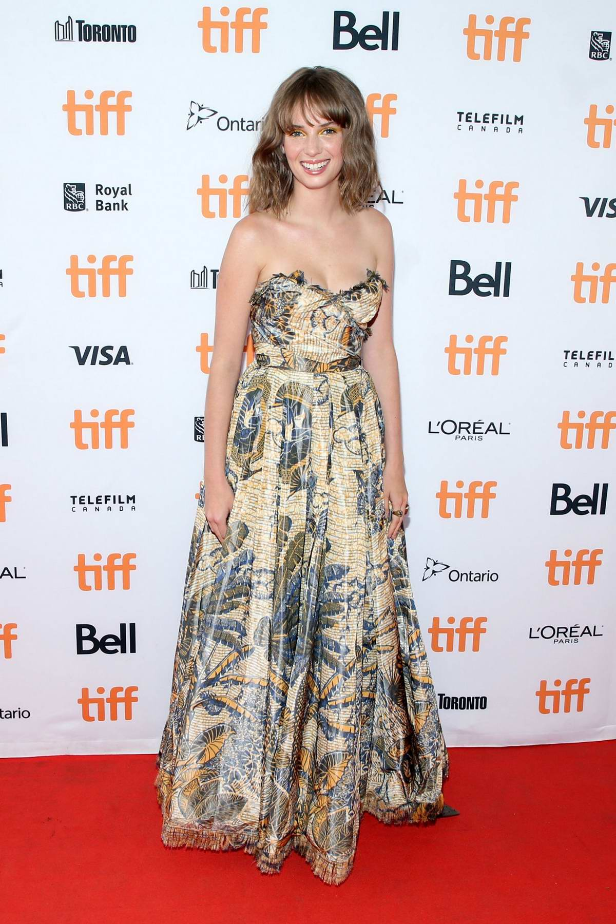 Maya Hawke attends the 'Human Capital' Premiere during the 2019 Toronto International Film Festival in Toronto, Canada