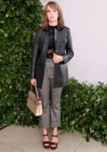 Maya Hawke attends Tory Burch NYFW SS20 at the Brooklyn Museum in New York City