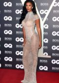 Maya Jama attends the 2019 GQ Men Of The Year Awards at Tate Modern in London, UK