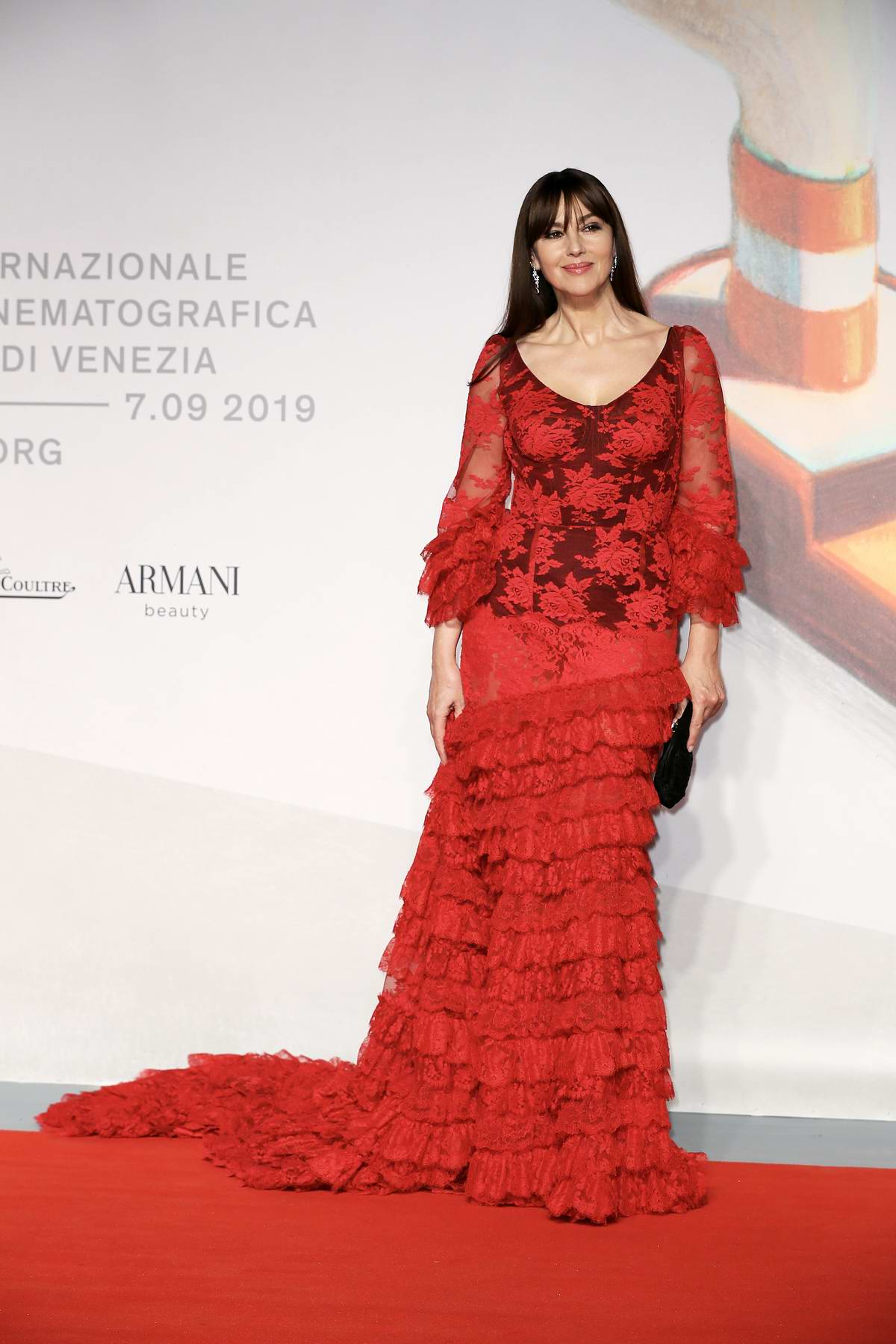 Monica Bellucci attends 'Irréversible: Inversion Intégrale' Premiere during the 76th Venice Film Festival in Venice, Italy