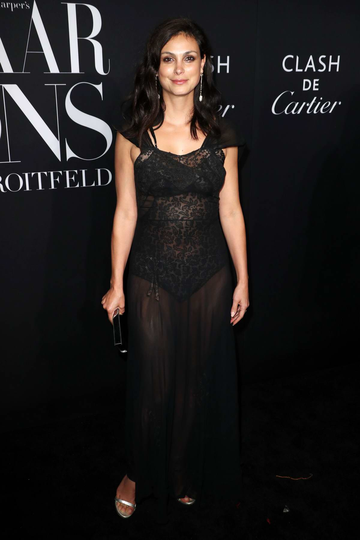 Morena Baccarin attends the 2019 Harper's Bazaar ICONS Party at The Plaza Hotel in New York City