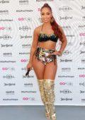 Mya performs live at Go Pool Dayclub at Flamingo Hotel & Casino in Las Vegas, Nevada