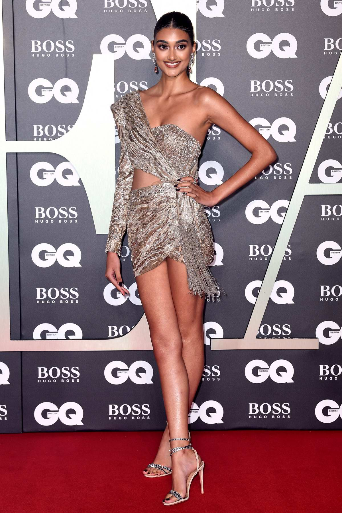 Neelam Gill attends the 2019 GQ Men Of The Year Awards at Tate Modern in London, UK