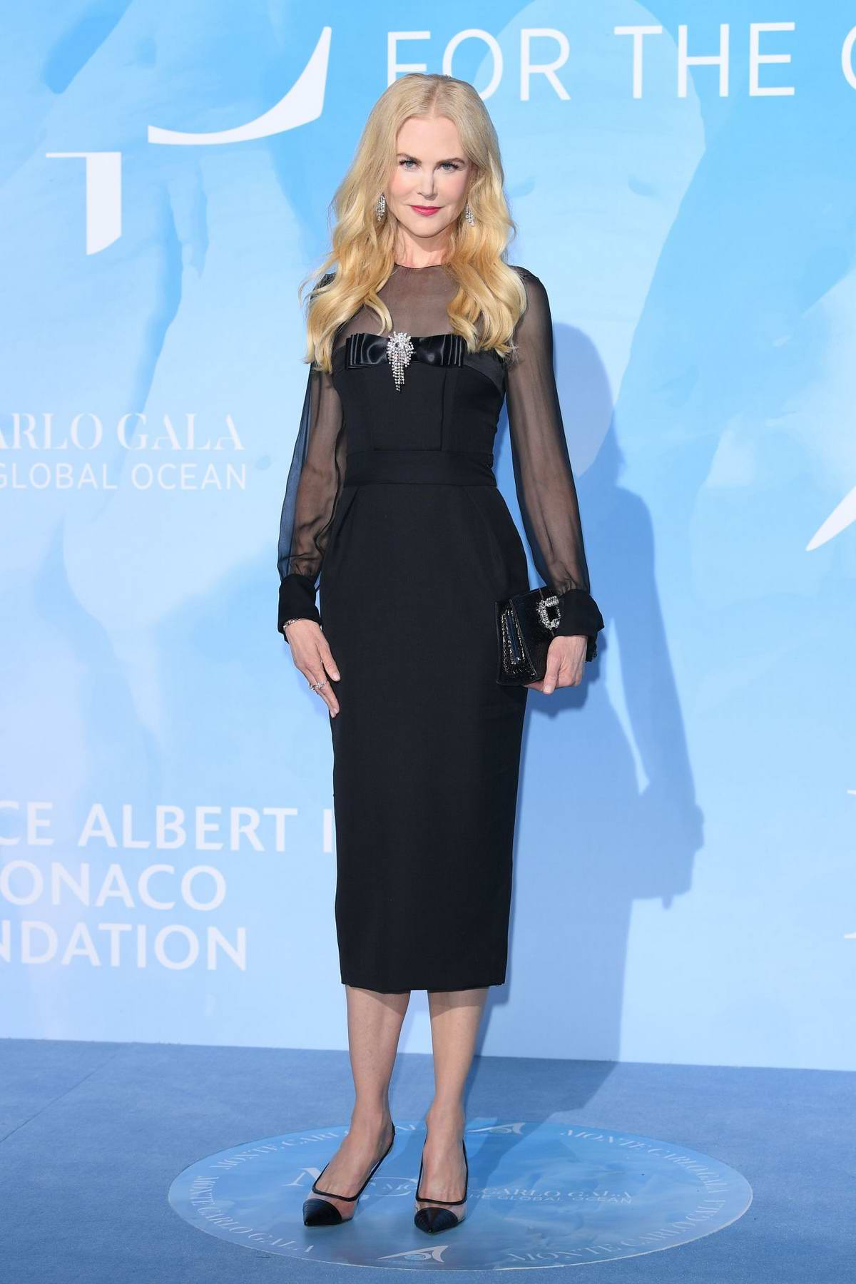 Nicole Kidman attends the Gala for the Global Ocean in Monte Carlo, Monaco