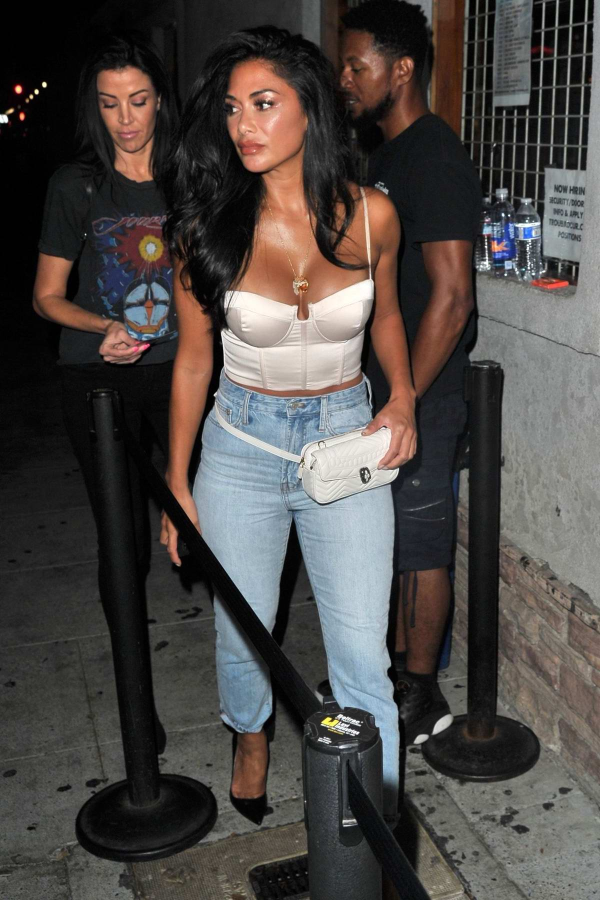 Nicole Scherzinger arrives to see James Arthur at the Troubadour in Los Angeles