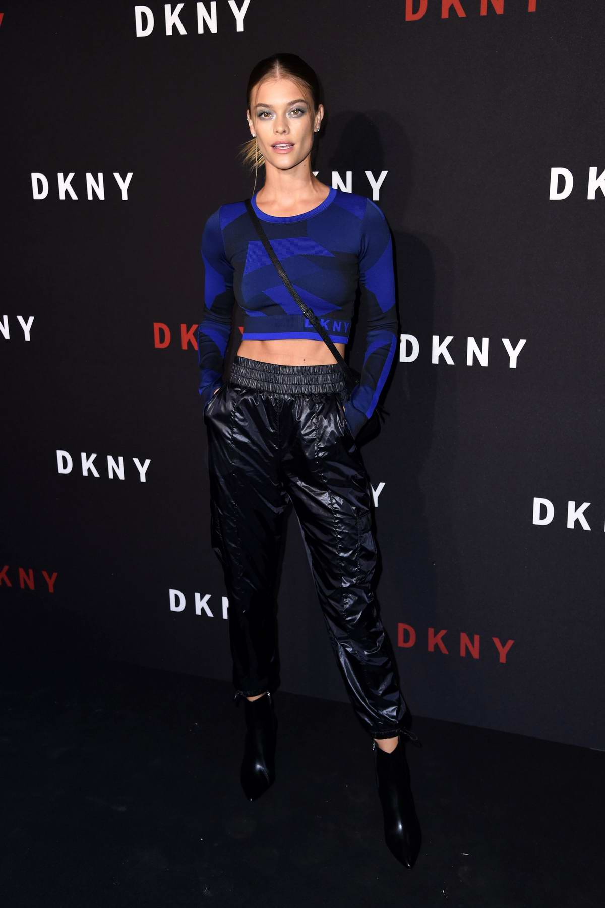 Nina Agdal attends DKNY 30th birthday party during New York Fashion Week in New York City