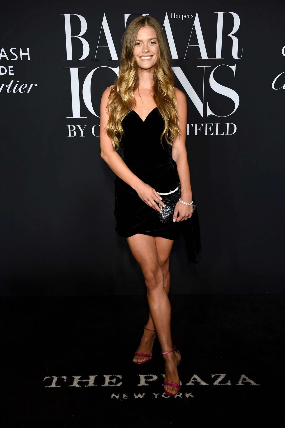Nina Agdal attends the 2019 Harper's Bazaar ICONS Party at The Plaza Hotel in New York City