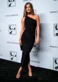 Nina Agdal attends the Mosaic Federation Gala Against Human Slavery in New York City