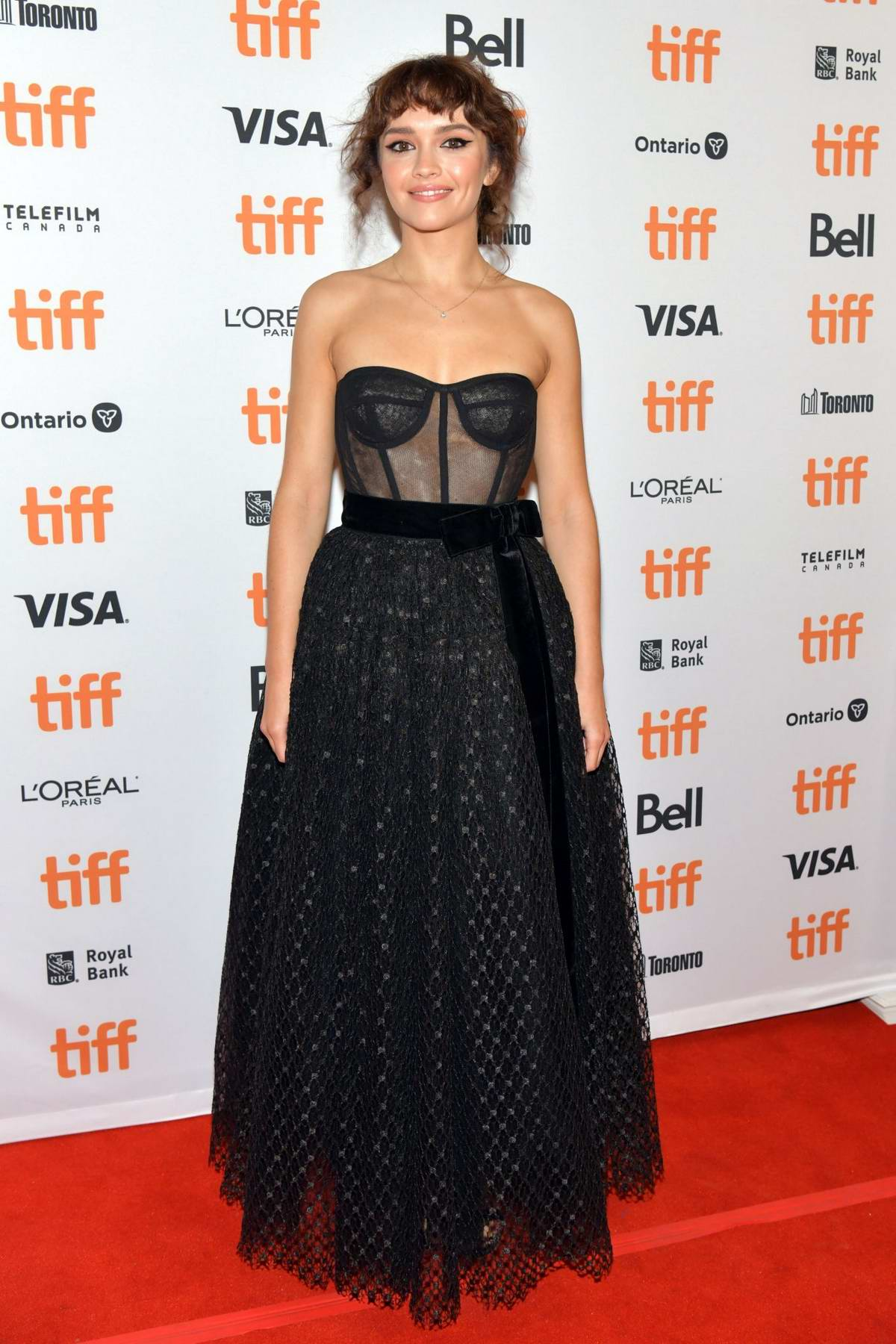 Olivia Cooke attends the premiere of 'Sound Of Metal' during the 2019 Toronto International Film Festival in Toronto, Canada