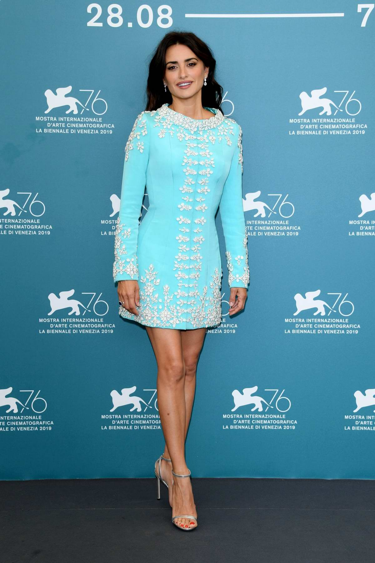 Penelope Cruz attends 'Wasp Network' Photocall during the 76th Venice Film Festival at Sala Grande in Venice, Italy