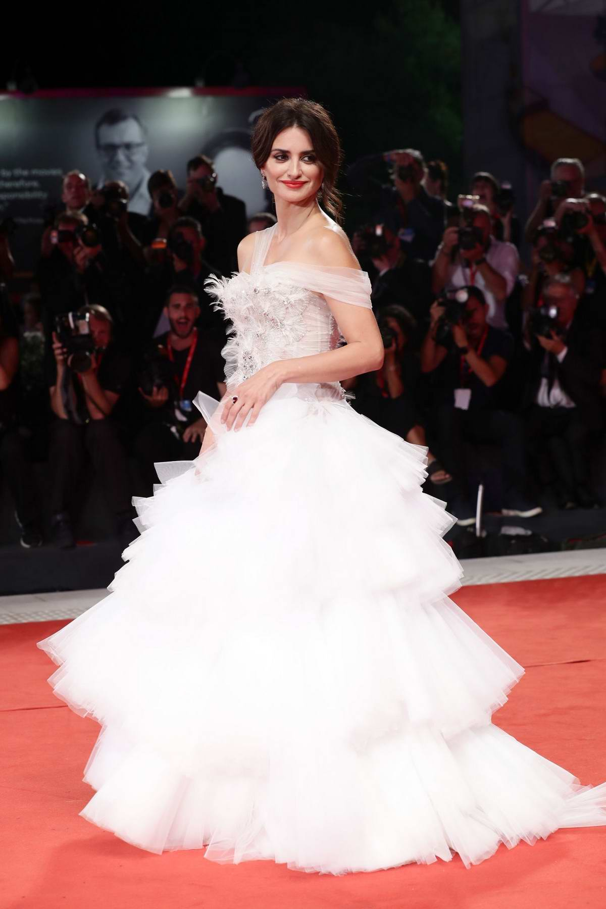Penelope Cruz attends 'Wasp Network' Screening during the 76th Venice Film Festival at Sala Grande in Venice, Italy