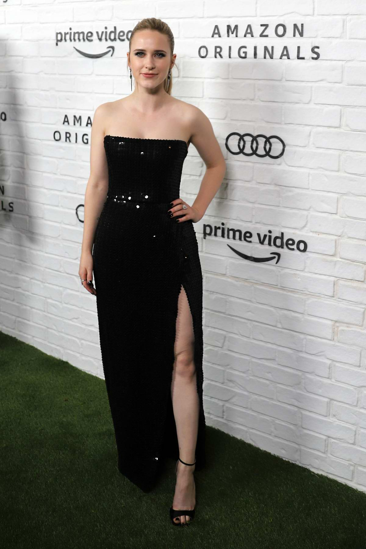 Rachel Brosnahan attends the Amazon Prime Video Emmy Awards After-Party 2019 in Los Angeles