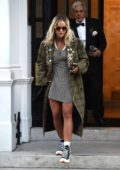 Rita Ora shows off her cool style as she leaves her management office in London, UK