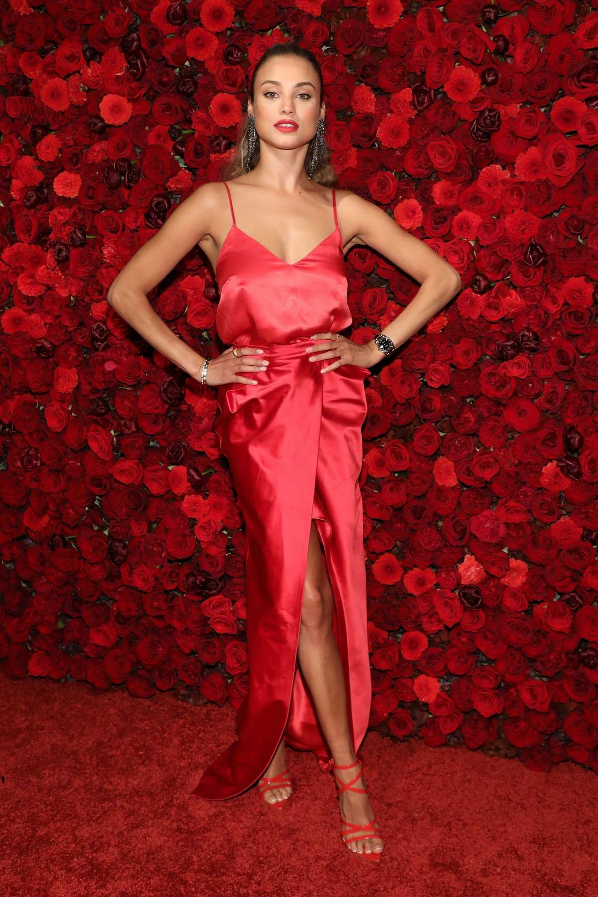 Rose Bertram attends Victoria's Secret Bombshell Intense Launch Party in New York City