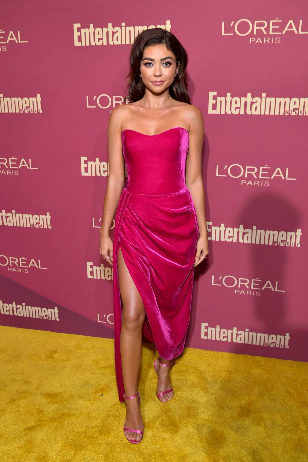 Sarah Hyland attends 2019 Pre-Emmy Party hosted by Entertainment Weekly and L'Oreal Paris in Los Angeles