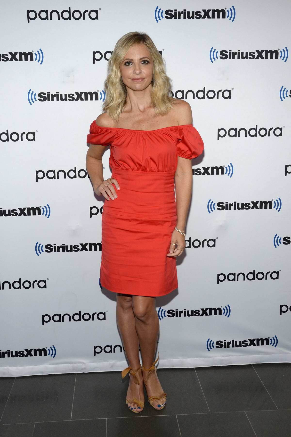 Sarah Michelle Gellar visits SiriusXM Studios in New York City