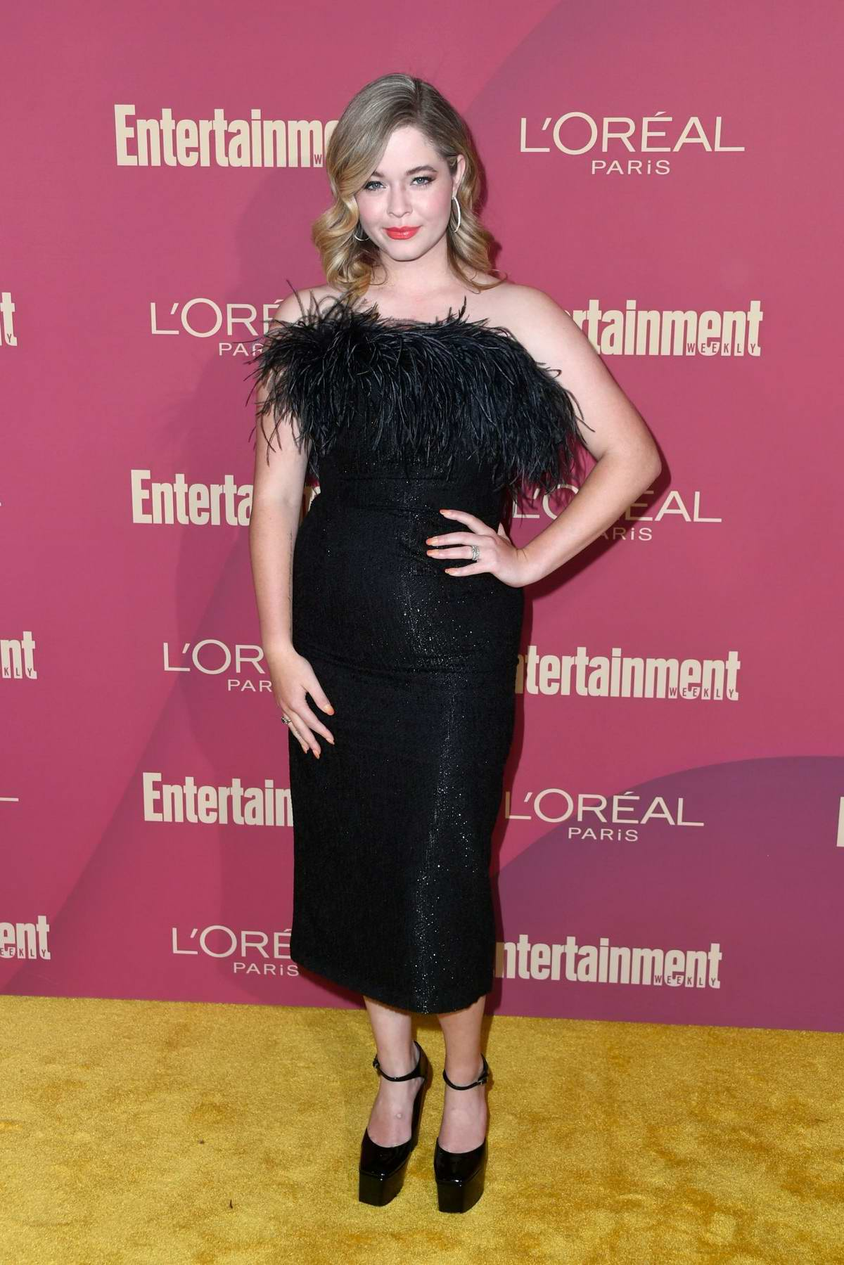 Sasha Pieterse attends 2019 Pre-Emmy Party hosted by Entertainment Weekly and L'Oreal Paris in Los Angeles