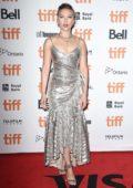 Scarlett Johansson attends 'Jojo Rabbit' Premiere during the 2019 Toronto International Film Festival in Toronto, Canada