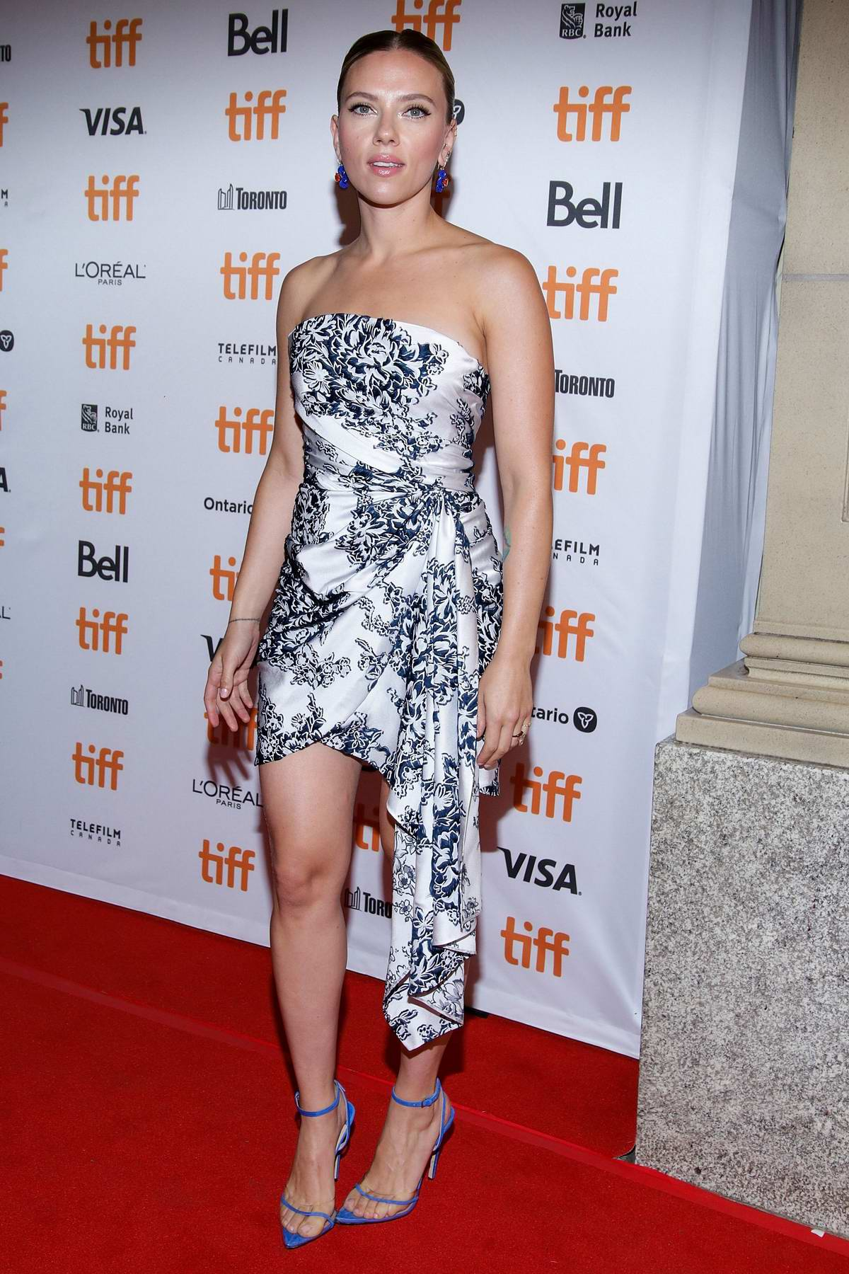 Scarlett Johansson attends 'Marriage Story' Premiere during the 2019 Toronto International Film Festival in Toronto, Canada