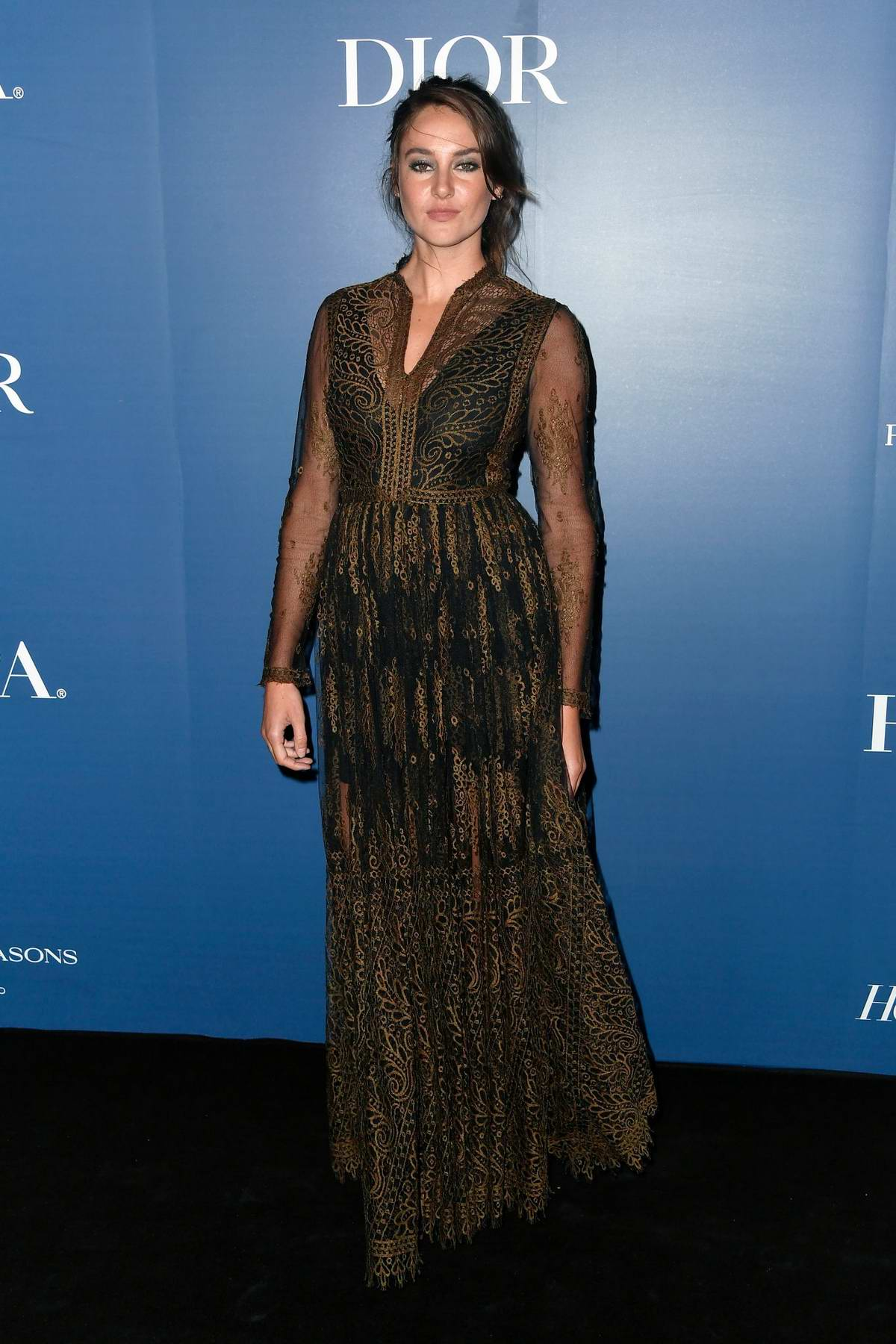 Shailene Woodley attends the Hollywood Reporter party during the 2019 Toronto International Film Festival in Toronto, Canada