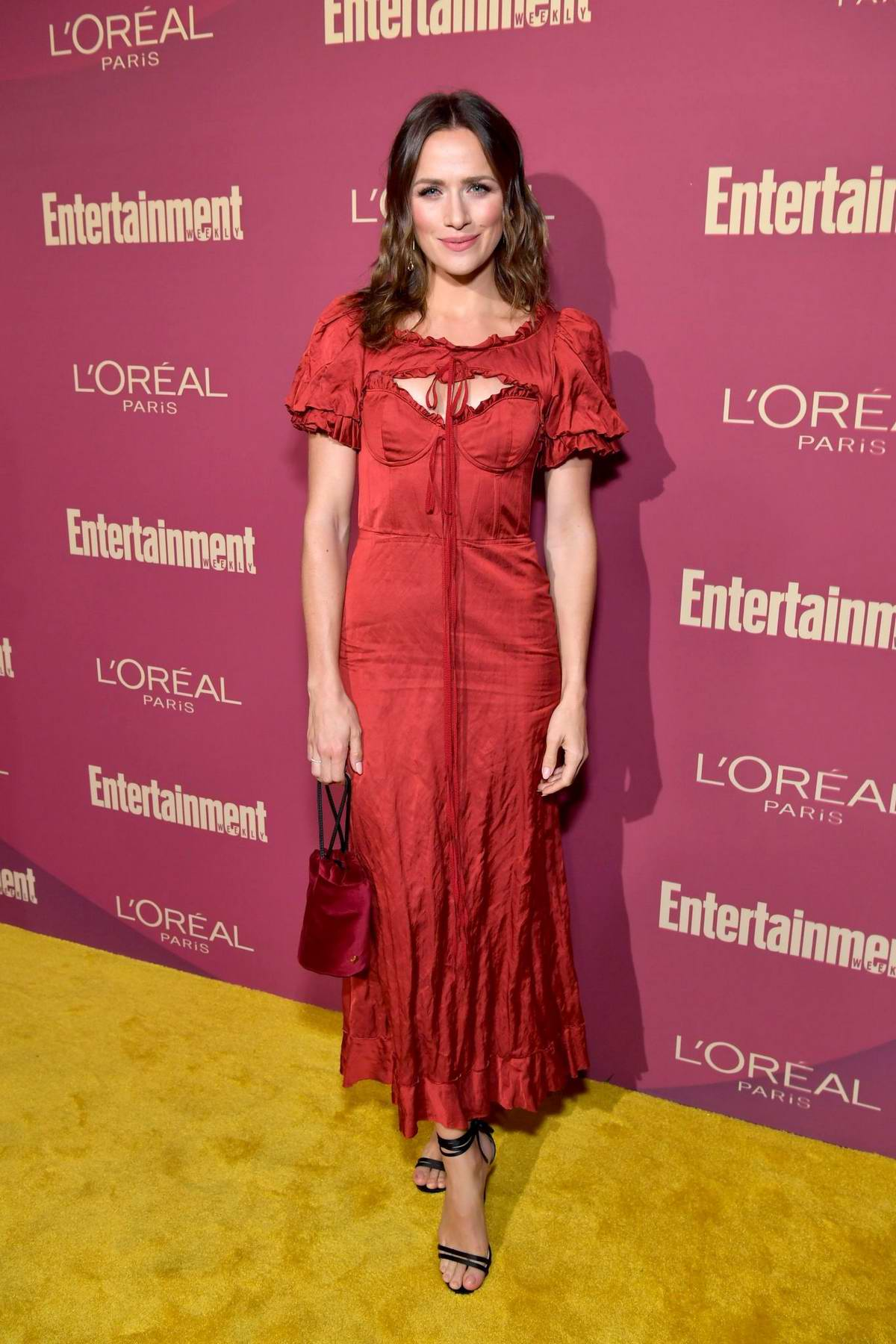 Shantel VanSanten attends 2019 Pre-Emmy Party hosted by Entertainment Weekly and L'Oreal Paris in Los Angeles