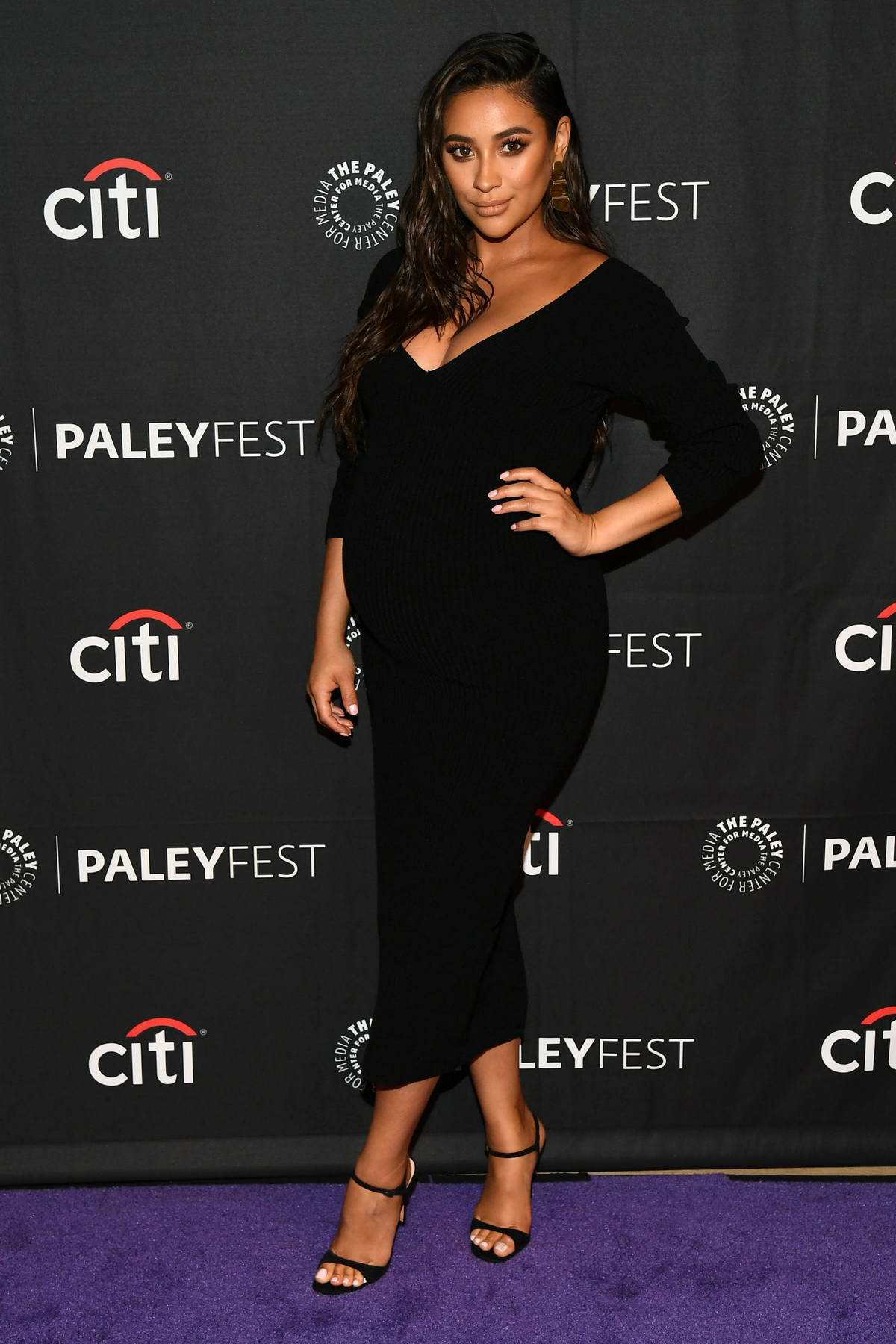Shay Mitchell attends Hulu's 'Dollface' presentation at PaleyFest in Beverly Hills, Los Angeles