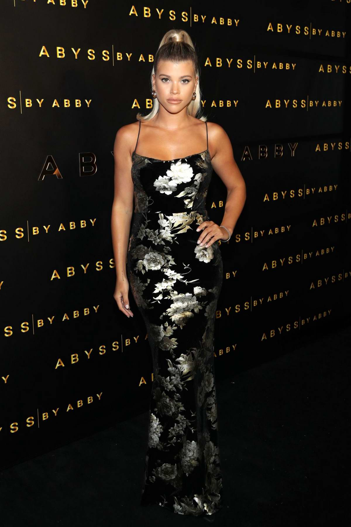 Sofia Richie attends Abyss By Abby Launch at Beauty & Essex in Los Angeles