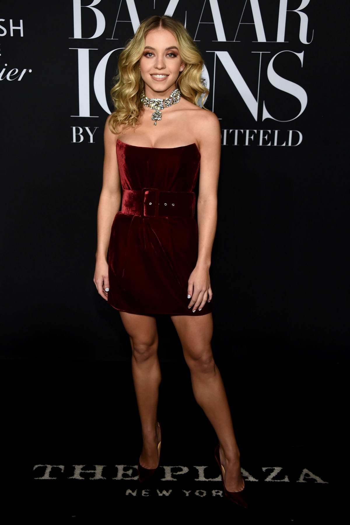 Sydney Sweeney attends the 2019 Harper's Bazaar ICONS Party at The Plaza Hotel in New York City