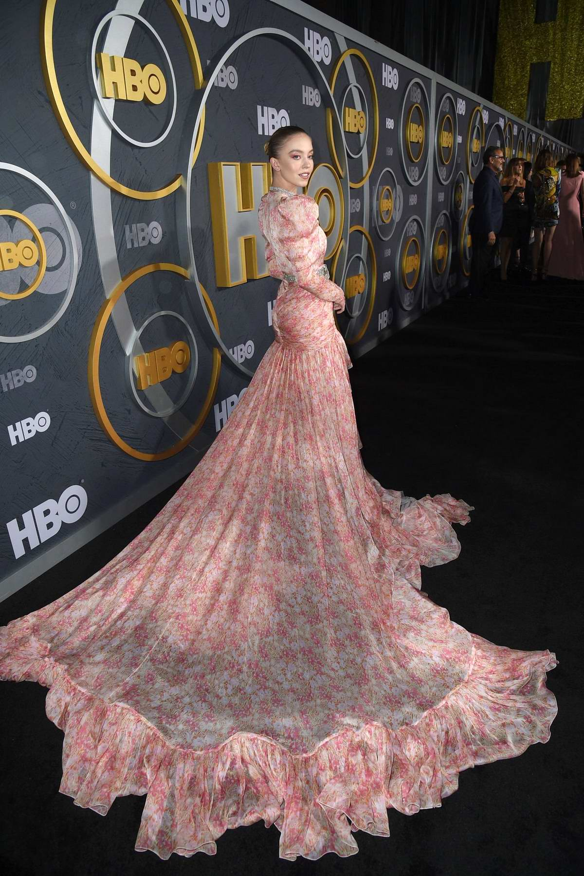 Sydney Sweeney attends the 2019 HBO Emmy Awards After-Party at The Pacific Design Center in Los Angeles