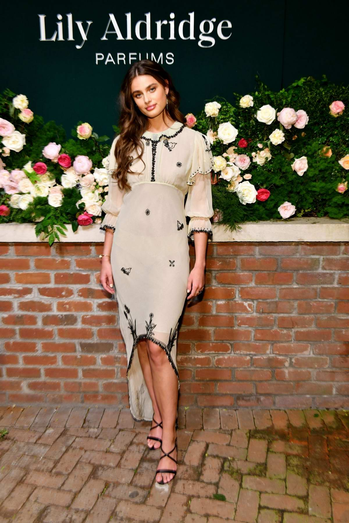 Taylor Hill Attends The 'lily Aldridge Parfums' Launch