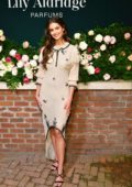 Taylor Hill attends the 'Lily Aldridge Parfums' launch event at The Bowery Terrace in New York City