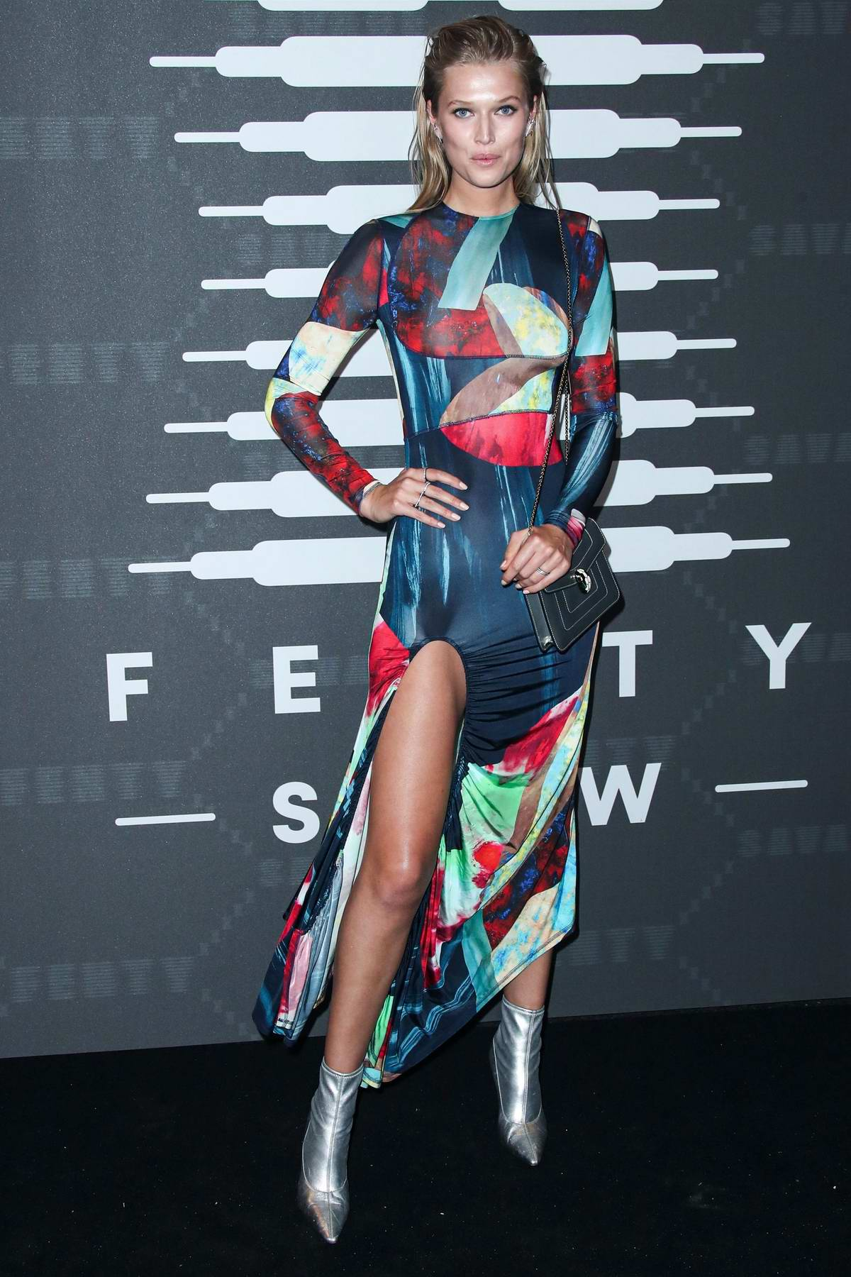 Toni Garrn attends Savage X Fenty Show during New York Fashion Week at Barclays Center in Brooklyn, New York City