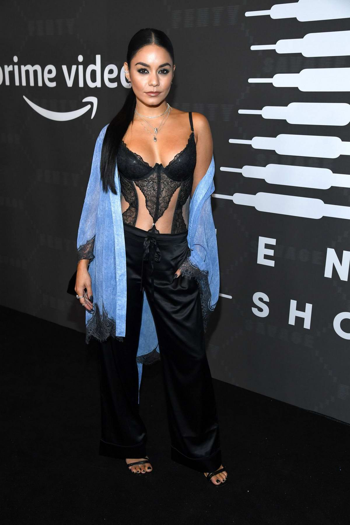 Vanessa Hudgens attends Savage X Fenty Show during New York Fashion Week at Barclays Center in Brooklyn, New York City