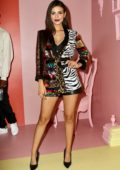 Victoria Justice attends the Alice + Olivia by Stacey Bendet arrivals during NYFW in New York City