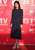 Alexandra Daddario attends 'Can You Keep A Secret' photocall during the Alice nella Città Festival in Rome, Italy