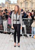 Alicia Vikander attends the Louis Vuitton Womenswear SS 2020 show during Paris Fashion Week in Paris, France