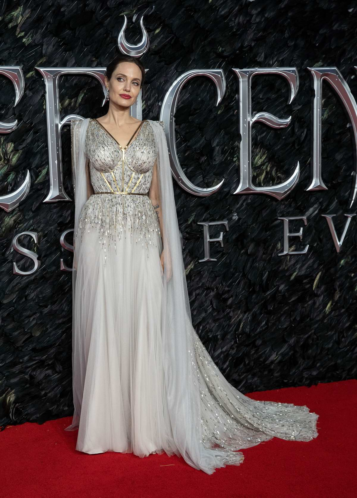 Angelina Jolie Attends The European Premiere Of Maleficent