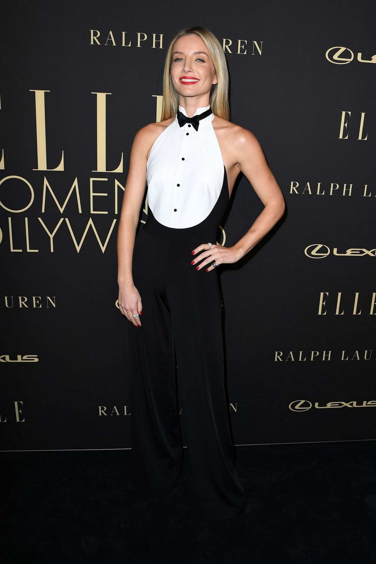 Annabelle Wallis attends ELLE's 26th Annual Women In Hollywood Celebration at The Four Seasons Hotel in Beverly Hills, California