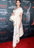 Anne Hathaway attends at Prime Video 'Museum Of Modern Love' Pop up event in New York City