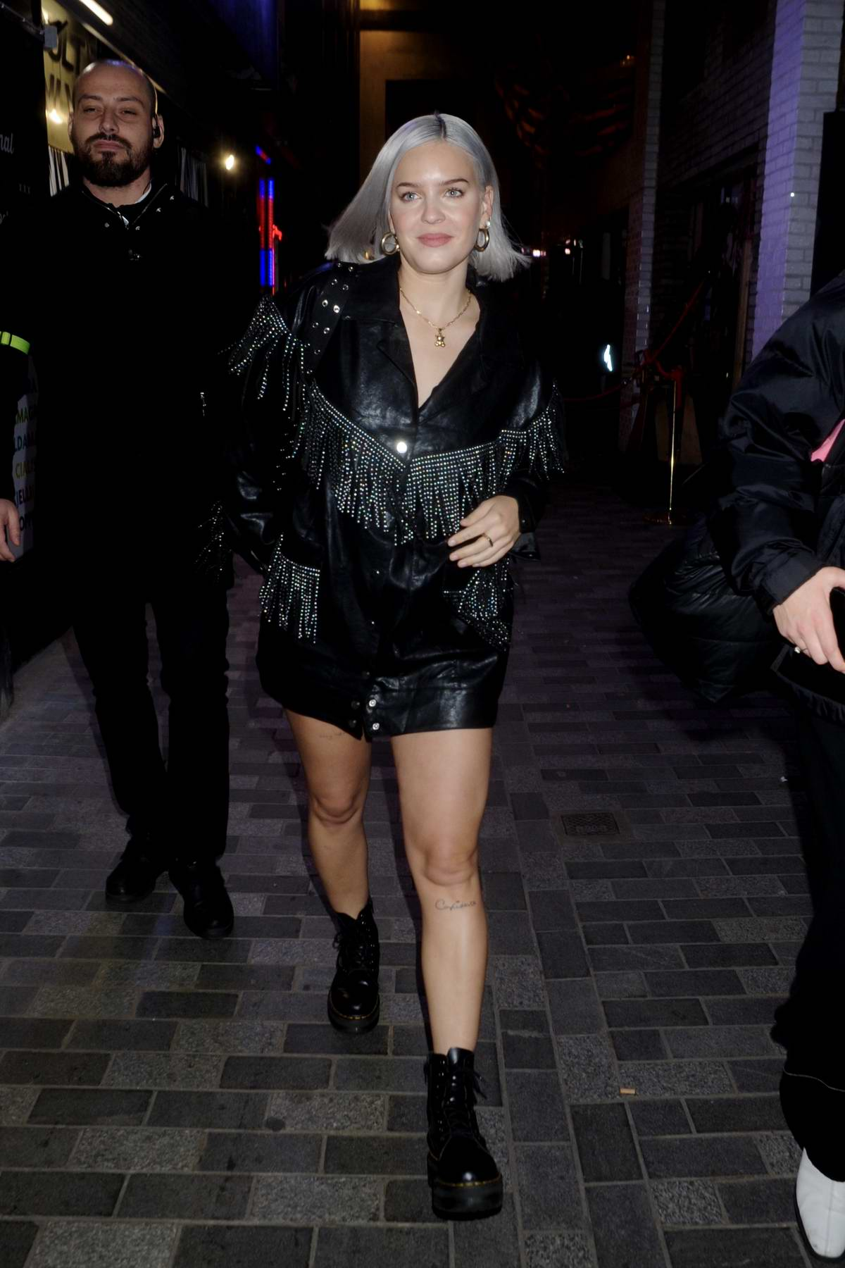 Anne-Marie attends Cara Delevingne x Nasty Gal Launch Party in London, UK