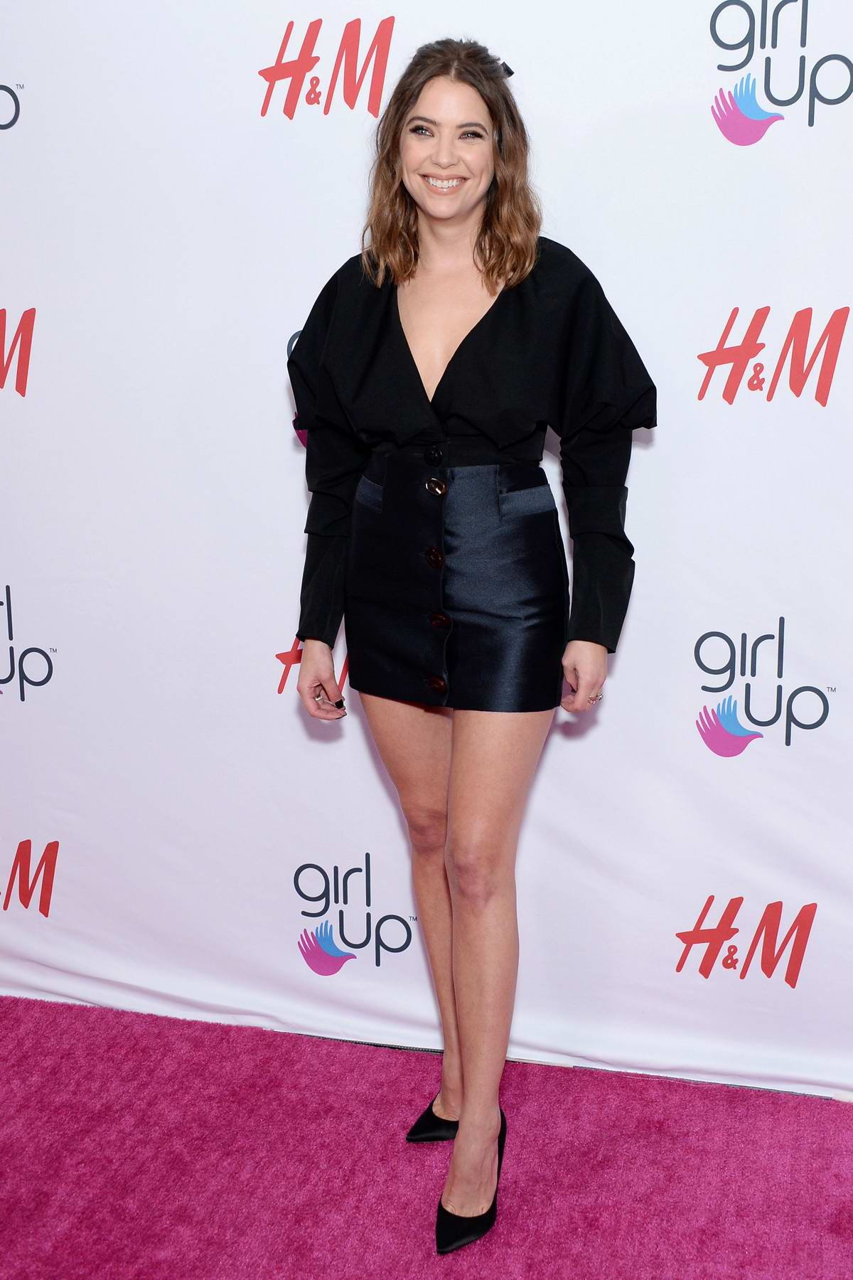Ashley Benson attends the 2nd Annual Girl Up #GirlHero Awards at the Beverly Wilshire Hotel in Beverly Hills, Los Angeles