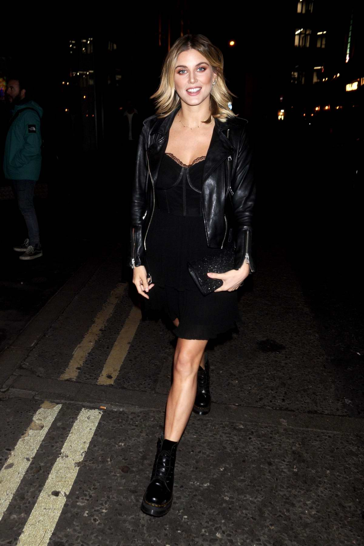 Ashley James attends Cara Delevingne x Nasty Gal Launch Party in London, UK