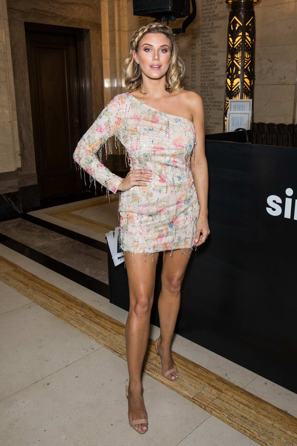 Ashley James attends Simply Be 'The New Icons' Photocall in London, UK