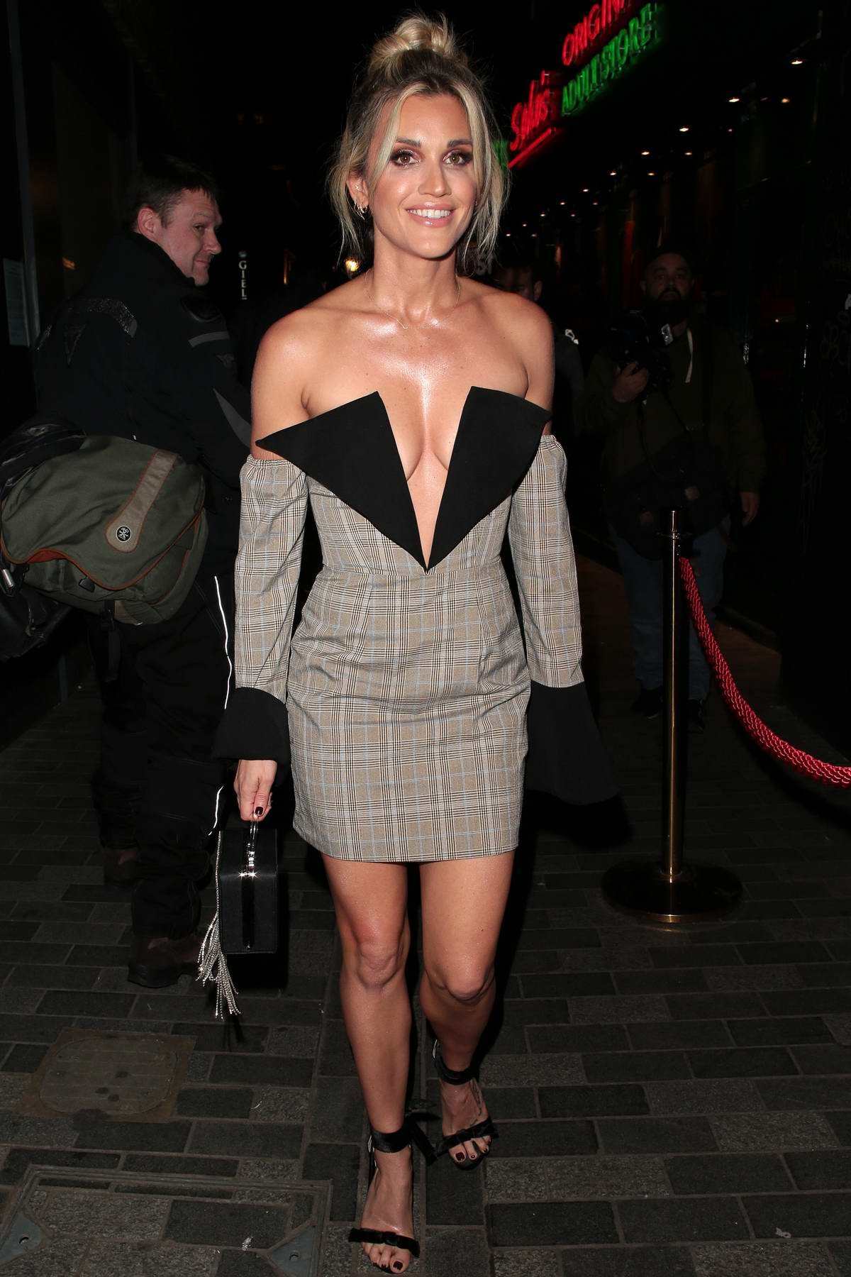 Ashley Roberts attends Cara Delevingne x Nasty Gal Launch Party in London, UK