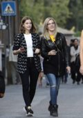 Barbara Palvin and her model friends, Charli Howard and Sophia Hadjipanteli enjoy a day out in Rome, Italy
