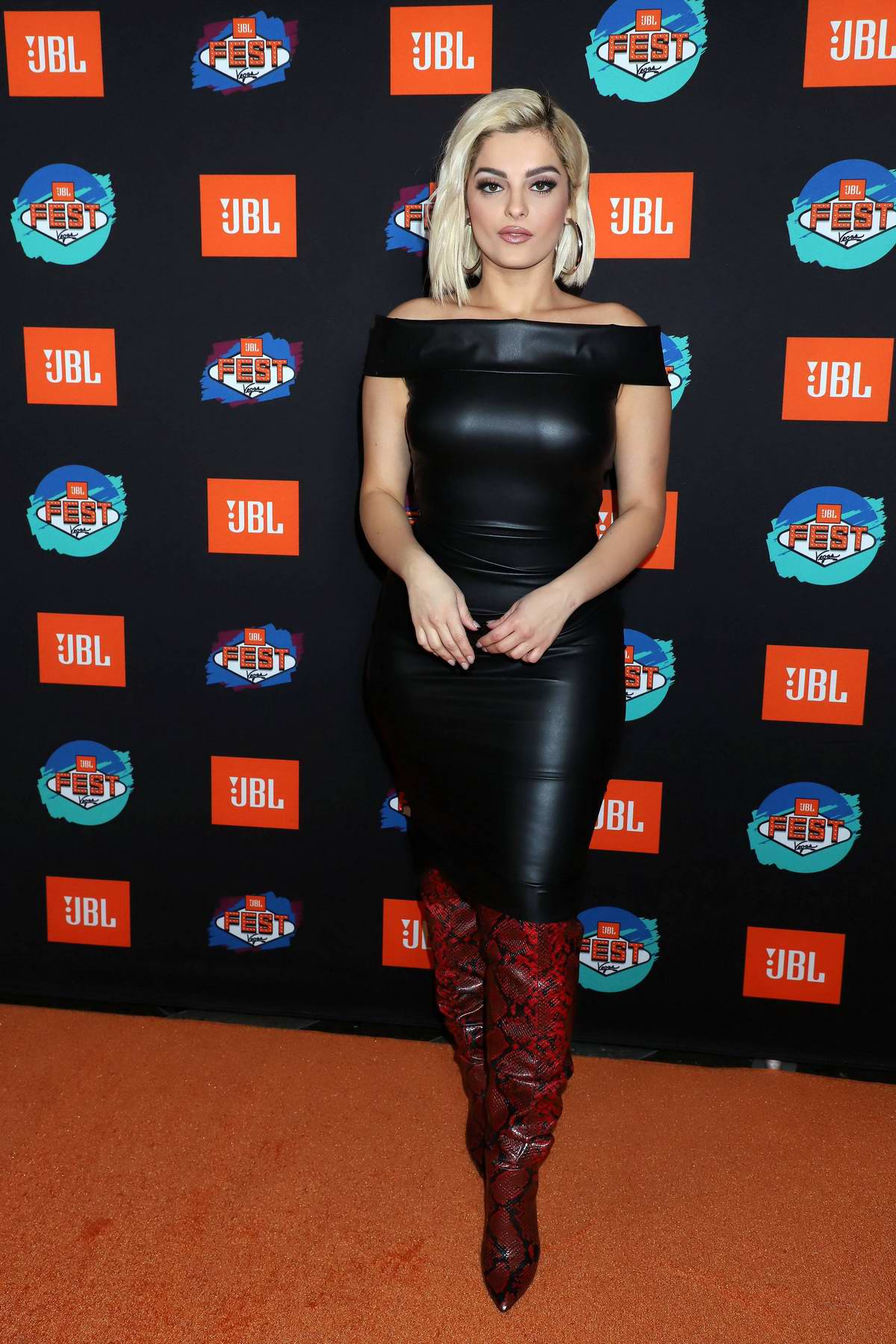 Bebe Rexha attends 3rd Annual JBL Fest 2019 at Jewel Nightclub Aria Resort & Casino in Las Vegas, Nevada