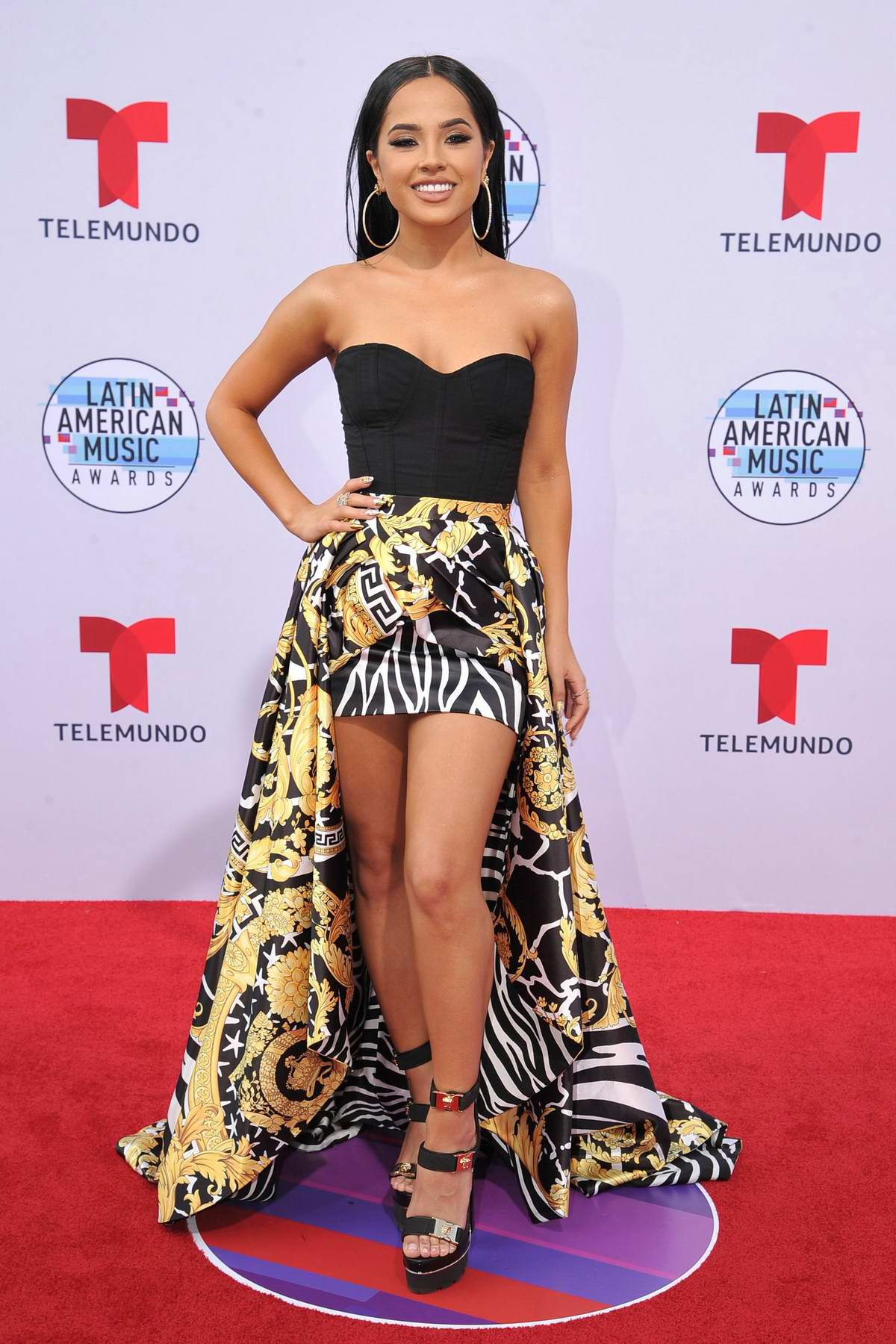 Becky G attends the Latin American Music Awards 2019 at Dolby Theatre in Hollywood, California