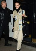 Bella Hadid steps out in style in London, UK